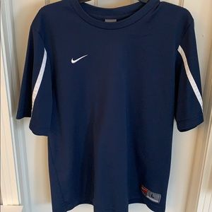 Nike men's large short sleeve, navy